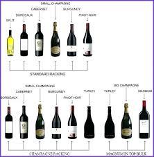 Wine Magnum Size Chart Liquor Bottle Size Chart Vimasfood Co