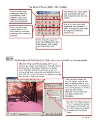 But with the right tutorials you can pick up gimp in no time. The Gimp Photo Editor Reference