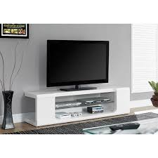 glossy white tv stand. Unique Glossy MONARCH  TV STAND HIGH GLOSSY WHITE WITH TEMPERED GLASS FOR TVu0027S UP TO Inside Glossy White Tv Stand C