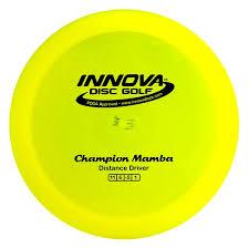 Innova Disc Golf Chart Innova Mamba Champion