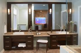 bathroom mirrors and lighting. view in gallery modern bathroom vanity design with stunning use of mirrors and lighting above it l
