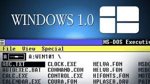 Windows 1 Windows 1 01 Demo 1985 System