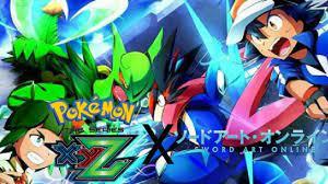 Pokemon XYZ AMV Sword Art Online Opening 3