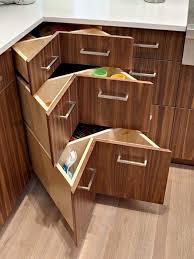 Building A Corner Cabinet Diy Corner Cabinet Drawers