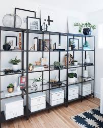 shelves for office. see how an interior stylist transformed her home from dated to insanely stylish shelves for office d