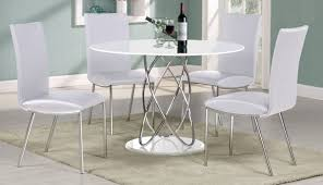 argos dining chairs pedestal white glass round sets piece room set table gloss and antique for