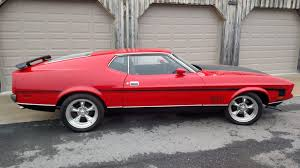 1971 Ford Mustang Mach 1 Fastback | T97 | Indy 2016
