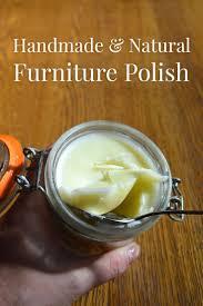 how to make natural beeswax furniture polish