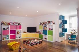... Playroom decorating, Rectangle Large Room White Modern Home Wood Place  Wall Stained Wall Element Simple ...