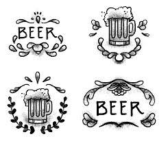 Beer Euclidean Vector Illustration Hand Painted Beer Beer Icon Png
