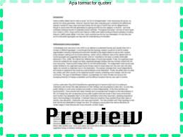 Apa Format Quotes Stunning Apa Format For Quotes Term Paper Writing Service