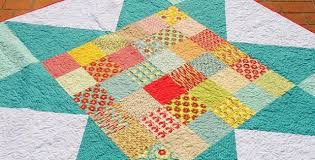 Go Big and Bold with This Bed-Sized Quilt - Quilting Digest & Bohemian Star Quilt Pattern Adamdwight.com