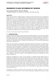 Engineering Design Brief Pdf International Conference On Engineering Design Iced11