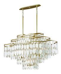 corbett lighting dolce capiz shell and crystal 12 lt island kitchen island lights ceiling lights