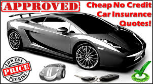 best way to get no credit check auto insurance
