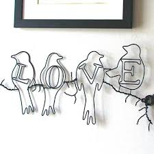 delightful design wire wall art trees decoration ideas red envelope personalized love birds remarkable by on personalized love birds wall art with art love birds wall art diy love birds wall decor personalized art