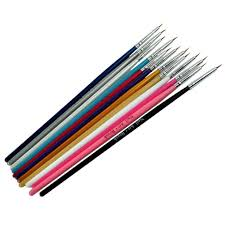12Pcs/Set Nail Art Design Painting Brush Tool Pen Drawing Paint ...