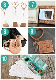 creative 7th year wedding anniversary gifts