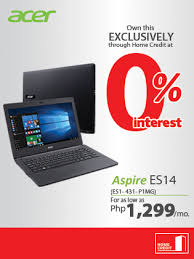Small Picture Acer Aspire ES14 at 0 interest Home Credit