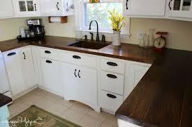 Wooden Kitchen Countertops Diy Island Countertop Photo 3 Kitchen Roomdesgin Decor Tips