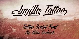 Fonts For Tattoos 35 Best Free Tattoo Fonts For Download Designyep