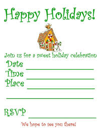 Printable Holiday Party Invitations Printable Christmas Party Invitations Printable Christmas Party