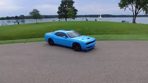Light Blue Challenger New Wrap On My Hellcat Baby Blue Youtube