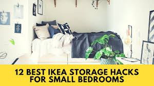best ikea furniture. IKEA HACKS! 12 Best Storage Hacks For Small Bedrooms - Home Organization Ideas 2017 Ikea Furniture