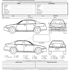 Free Printable Vehicle Inspection Form Vehicle Inspection Report Template Free Stalinsektionen Docs
