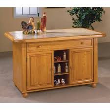 Crosley Kitchen Cart With Granite Top Kitchen Carts Kitchen Island Cart Under 100 Cart In Natural Wood