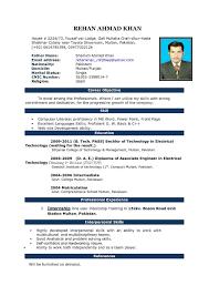 Resume Format Template Free Amusing Resume Format Template Free Download On Blank Resume Free 18