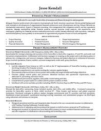 Resume Example Project Manager New Project Manager Resume Sample Doc