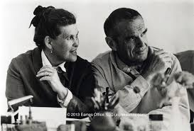 charles and ray eames tag archdaily happy birthday charles eames ray and charles eames image © eames office