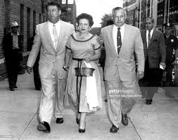 Mrs. Betty Weinberger enters Ridgewood Felony Court to appear at ...