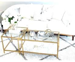 glass and gold coffee table round gold glass coffee table gold coffee tables glass gold bamboo