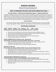 30 Rig Welder Resume Templates Best Resume Templates