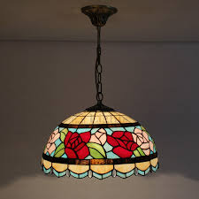 style tiffany pendant lights wrought iron fixture loading zoom