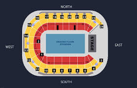 Super Bowl 51 Seating Chart Seating Maps Seating Plan Sse Arena Belfast