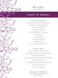 Wedding Program Designs Wedding Program Ideas Template Helenamontana Info