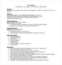 Relevant Experience Resume Amazing Relevant Experience Resumes Kenicandlecomfortzone
