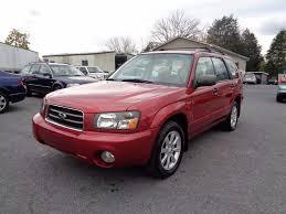 subaru forester 2005 red. 2005 subaru forester awd xs 4dr wagon strasburg va red