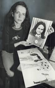 A stolen life: Lynda Keenan with photo of Sharin'. Talk is cheap ...