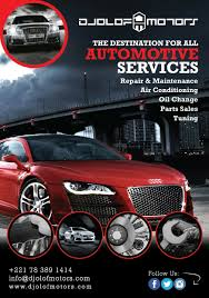 Auto Repair Flyer Entry 4 By Chaliraza For Flyer For Auto Repair Shop