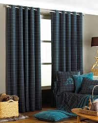 living room blue tartan curtains balm tartan curtains extra wide curtains tartan thermal curtains chair under