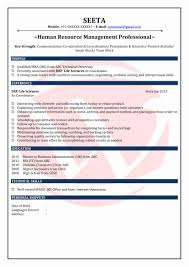 Mba Fresher Resume Format Unique Mba Sample Resume New Resume Format