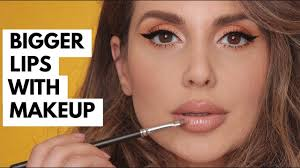 how to get bigger looking lips with makeup ali andreea