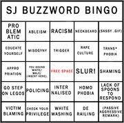 buzzword bingo generator the social justice buzzword bingo card