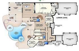 6 bedroom house plans. Wonderful House Mediterranean Style House Plan  6 Beds 750 Baths 11672 SqFt 27 For Bedroom Plans L