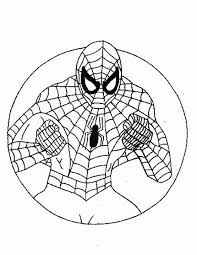 Spiderman Da Colorare Disegni Gratis