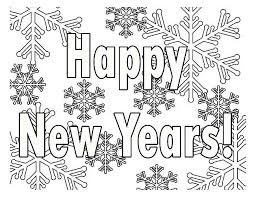 Small Picture Coloring Pages New Year babsmartincom babsmartincom